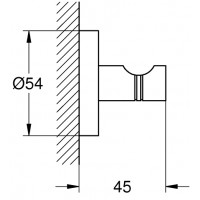 Крючок для банного халата Grohe Essentials, 40364AL1