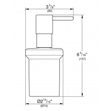 Дозатор жидкого мыла Grohe Essentials 40394AL1