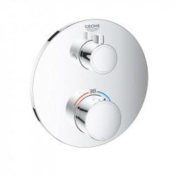 Термостат для душа с переключателем на 2 положения верхний/ручной душ Grohe Grohtherm, 24076000