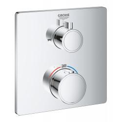 Grohe Grohtherm Термостат для душа с переключателем на 2 положения ванна/душ, 24080000