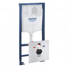 Комплект Solido 5 в 1: инсталляция Grohe Rapid SL + подвесной унитаз Bau Ceramic 39418000