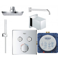 Набор для душа Grohe Grohtherm SmartControl Cube, 23409SC0