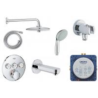Набор для ванны и душа Grohe Grohtherm SmartControl, 34614SC3