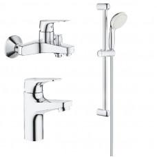 Набор смесителей для ванны GROHE BauFlow 3 в 1 121624S