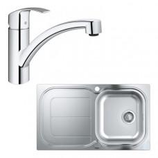Мойка из нержавеющей стали Grohe Sink K300, 31565SD0