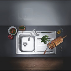 Кухонная мойка GroheEXSink K400+31568SD0