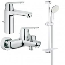 Набор смесителей для ванны GROHE Eurosmart Cosmopolitan, 126112M