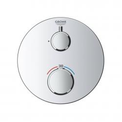 Термостат для душа с переключателем на 2 положения ванна/душ Grohe Grohtherm, 24077000
