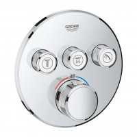 Комплект скрытого монтажа для ванны и душа Grohe Grohtherm SmartControl 26416SC2