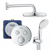 Душевой набор GROHE Grohtherm SmartControl для душа на 2 потребителя, 34614SC0