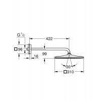 Душевой набор GROHE Grohtherm SmartControl 26405SC2