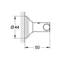 Крючок для банного халата  Grohe EX Essentials Authentic 40656001