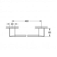Полотенцедержатель Grohe Selection Cube 40767000
