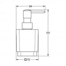 Дозатор жидкого мыла Grohe Selection Cube 40805000