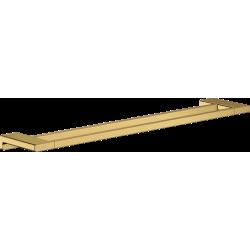Двойной держатель для банных полотенец Hansgrohe AddStoris 41743990 золото