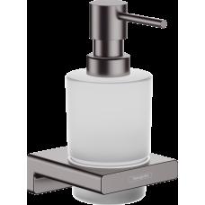 Дозатор для жидкого мыла Hansgrohe AddStoris 41745340 черный матовый хром
