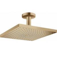 Верхний душ Hansgrohe Raindance E 300 1jet с потолочным соединителем Brushed Bronze26250140