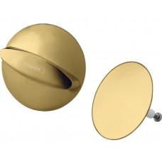 Внешняя часть сифона для ванны Hansgrohe Flexaplus Polished Gold Optic 58185990