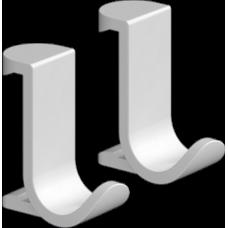 Крючок для полотенец Hansgrohe WallStoris 27914700 на штангу, белый матовый