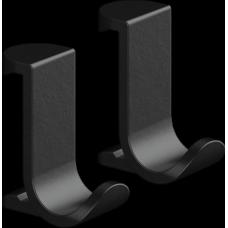 Крючок для полотенец Hansgrohe WallStoris 27914670 на штангу, черный матовый