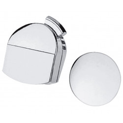 Внешняя часть сифона для ванны Hansgrohe Exafill 58127000