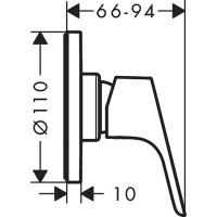 Смеситель для душа скрытого монтажа Hansgrohe Focus 31961000