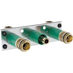 Скрытая часть для душа Hansgrohe ShowerTablet 600 с 2 потребителями 13129180