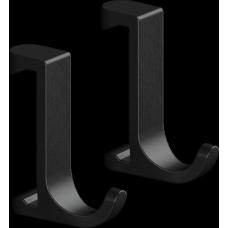 Крючок для полотенец Hansgrohe WallStoris 27929670 на штангу, черный матовый
