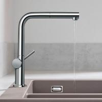 Смеситель Hansgrohe Talis M54 для кухонной мойки с выдвижным душем, хром 72808000