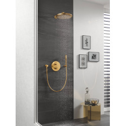 Верхний душ с душевым кронштейном GROHE Rainshower Cosmopolitan 310 26066GN0