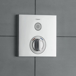 Смеситель скрытого монтажа для душа с термостатом Hansgrohe ShowerSelect 15767000