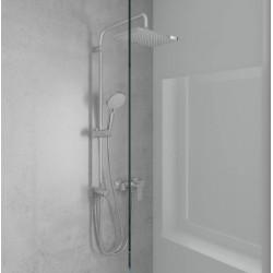 Душевая система Hansgrohe Vernis Shape Showerpipe 230 1jet Reno EcoSmart 26289000 хром