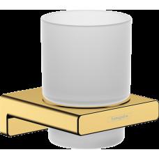 Стаканчик для зубных щеток Hansgrohe AddStoris 41749990 золото