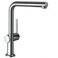 Смеситель Hansgrohe Talis M54 для кухонной мойки с выдвижным душем Sbox72809000