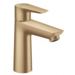 Смеситель для раковины Hansgrohe Talis E 110 с донным клапаном pop-up Brushed Bronze 71710140
