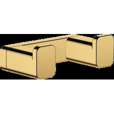 Двойной крючок Hansgrohe AddStoris 41755990 золото