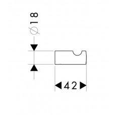 Крючок Hansgrohe Logis 40511000