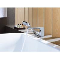 Смеситель на борт ванны Hansgrohe Metropol Loop Secuflex хром 74550000