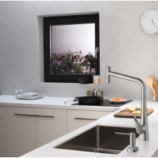 Дозатор кухонный Hansgrohe A71 для моющего средства 500 ml Stainless Steel 40468800