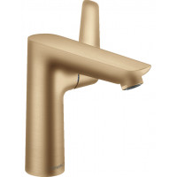 Смеситель для раковины Hansgrohe Talis E 150 с донным клапаном Brushed Bronze 71754140