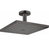 Верхний душ Hansgrohe Raindance E 300 1jet с потолочным соединителем Brushed Black26250340