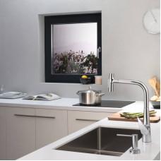 Дозатор кухонный Hansgrohe A51 для моющего средства 500 ml Matt Black 40448670