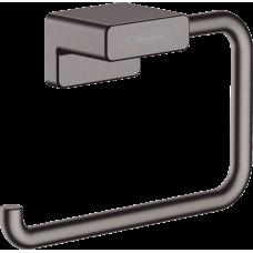 Держатель туалетной бумаги Hansgrohe AddStoris 41771340 черный матовый хром