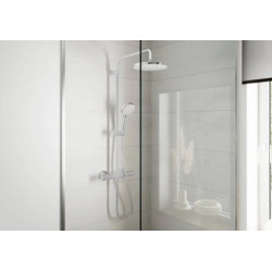 Душевая система Hansgrohe Vernis Blend Showerpipe 200 1jet с термостатом 26276000 хром