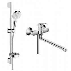 Набор смесителей для ванны 2 в 1 Hansgrohe Logis 1282019