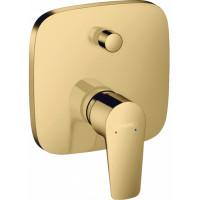 Смеситель скрытого монтажа для ванны и душа Hansgrohe Talis E Polished Gold Optic 71745990