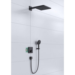 Душевой комплект Hansgrohe Raindance E/ShowerSelect E 7в1 Matt Black 27939670