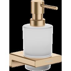Дозатор для жидкого мыла Hansgrohe AddStoris 41745140 бронза матовый