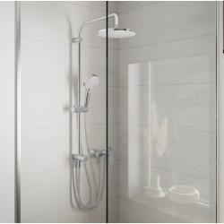 Душевая система Hansgrohe Vernis Blend Showerpipe 200 1jet Reno EcoSmart 26099000 хром