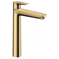 Смеситель для раковины Hansgrohe Talis E 240 Polished Gold Optic 71717990